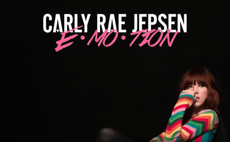 CARLY RAE JEPSEN'S E-MO-TION