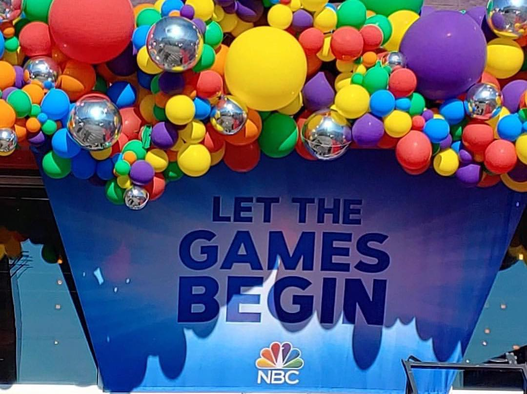 NBC'S LET THE GAMES BEGIN
