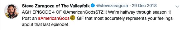 Steve Zaragoza Tweet 2