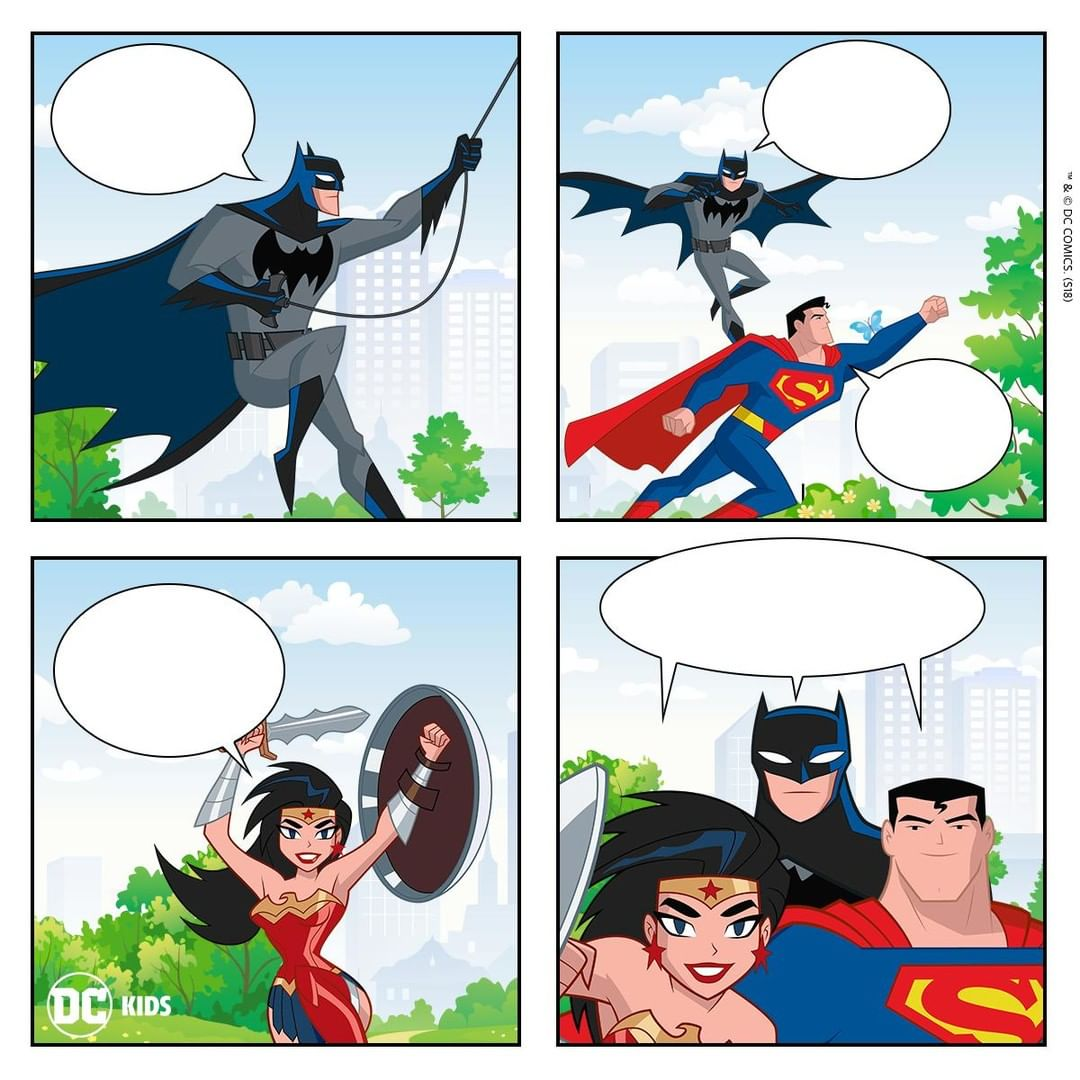 justice league action create your own comic