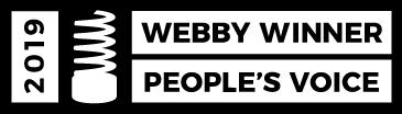 2019 Webby Winner People's Voice